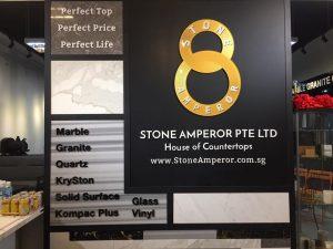 stone amperor countertop replacement