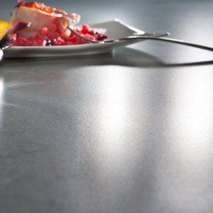 Silestone Suede Surface Finish Kitchen Countertop