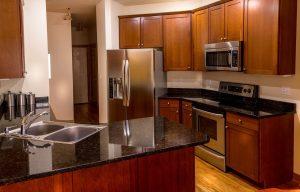 Granite, kitchen counter-top