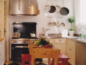 Warm Colour Kitchen Design