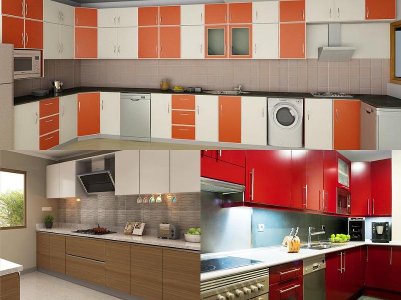 durable aluminium kitchen cabinets